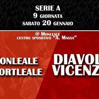 Sportleale Monleale vs Diavoli Vicenza