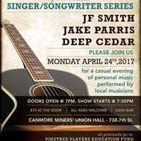 Pine Tree Players Singer Songwriter series