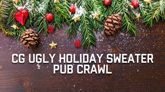 CG Ugly Holiday Sweater Pub Crawl