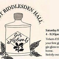 East Riddlesden Hall Gin Festival