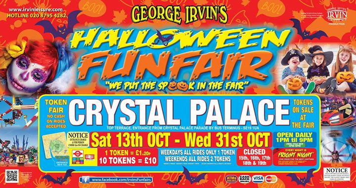 Crystal Palace Halloween Funfair