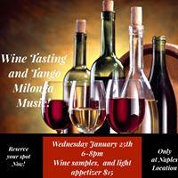 Wine Tasting &amp Tango Milonga Night