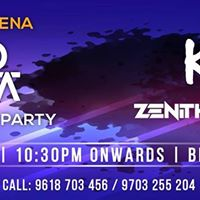 Sunburn Arena AfterParty with Kerano &amp Zenith vs The Unknown