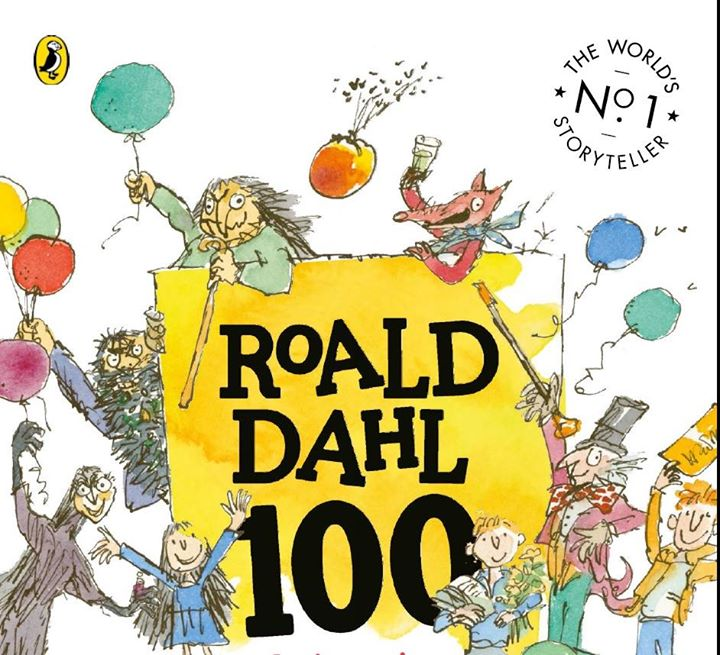 Image result for roald dahl 100 years