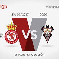 Partido Cultural y Deportiva Leonesa VS Albacete