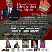Kissimmee Cuban Sandwich Smackdown (3rd Annual)