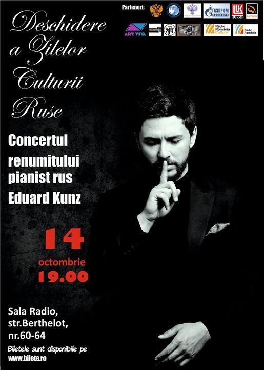 Concertul lui Eduard Kunz - Deschiderea Zilelor Culturii Ruse