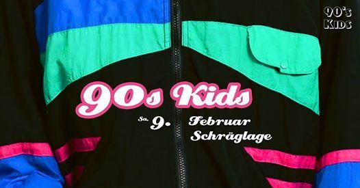 90s KIDS in der Schrglage