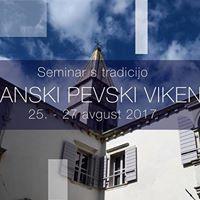 VI. Piranski pevski vikend 2017 (tradicionalna delavnica)