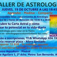 Taller de Astrologa