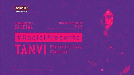 Social Presents Tanvi  Womens Day Special