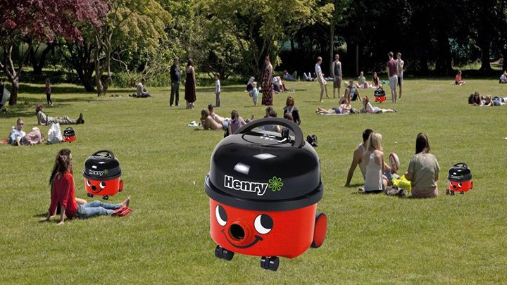 Take your Henry Hoover for a picnic