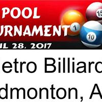 Pool Tournament Edmonton Metro Billiards