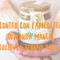 Un viaggio intorno al miele con Armanda Manghi apicoltrice