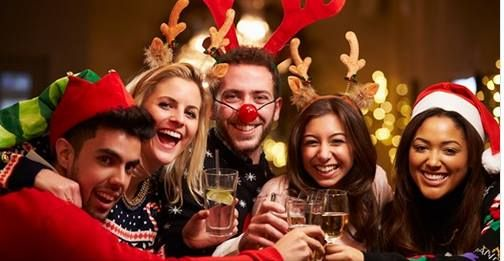 Join a Christmas Party Night - 7th December