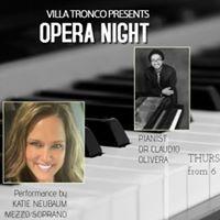 Opera night at Villa Tronco Columbia