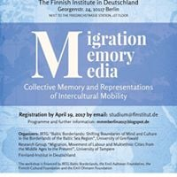 Workshop Migration Memory Media