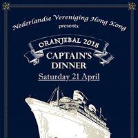 Oranjebal 2018 - Captains Dinner