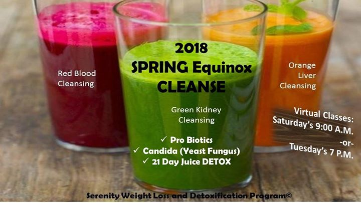 Spring Equinox Cleanse