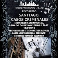 Recorrido &quotSantiago Casos Criminales&quot