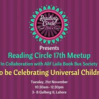 Reading Circle 17th Meetup (Ladies Only)