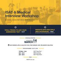 ISAT &amp Medical Interview Workshop