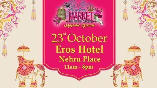 London Market at Eros Hotel Nehru Place New Delhi