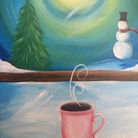 Winters Night Painting Party