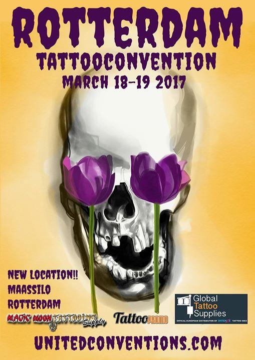 Rotterdam Tattoo Convention 2017 At Maassilo Rotterdam