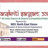 Sanskriti Sangam17(Internatinal National Music Dance Drama cmp)