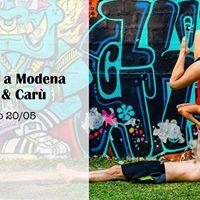Acroyoga a Modena con Giulia e Car