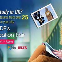 Attend IDPs UK Education Fair