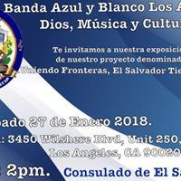 Exposicin de proyecto UNIENDO FRONTERAS EL SALVADOR TIENE TALENTO.