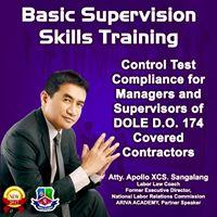 Basic Supervision Skills Training