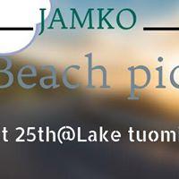 JAMKO IC Beach picnic