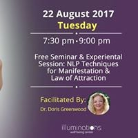 Free Seminar NLP Techniques for ManifestationLaw of Attraction