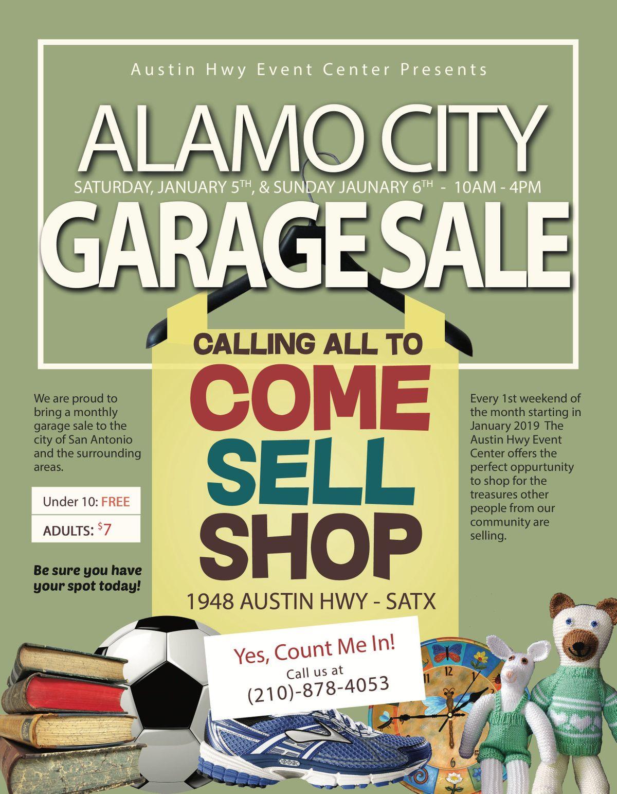 Alamo City Garage Sale At Austin Hwy Event Center San Antonio