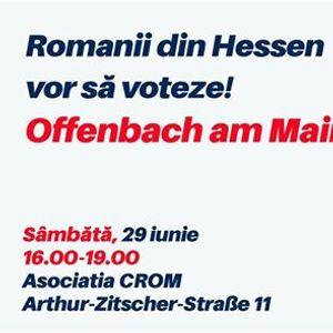 Romanii din Hessen vor s voteze