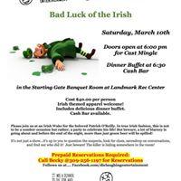 Bad Luck of the Irish