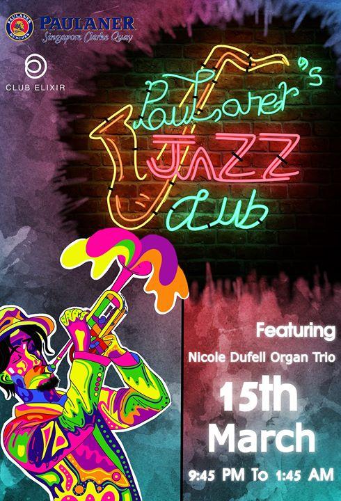 Paulaner Jazz Club- Nicole Duffel Organ Trio