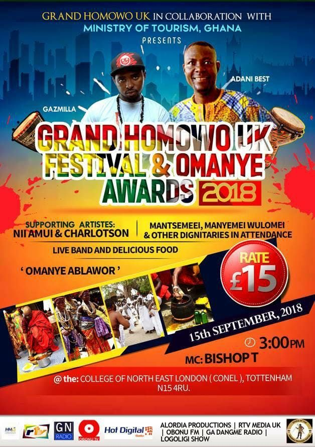 GRAND HOMOWO UK FESTIVAL & OMANYE AWARDS