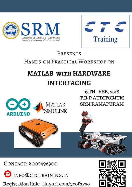Matlab & Hardware Interfacing Workshop