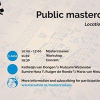 Masterclassdag&ampKamermuziekconcert