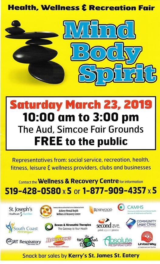 Mind Body Spirit Health Wellness & Recreation Fair