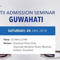 FTII Admission Seminar in Guwahati