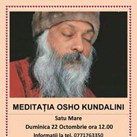 Meditatia Osho Kundalini Satu Mare