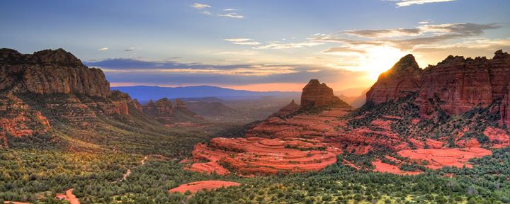 Canyon Country featuring Arizona and Utah