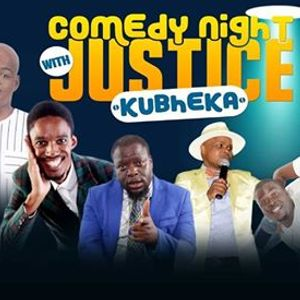 Comedy night with Justice Kubheka