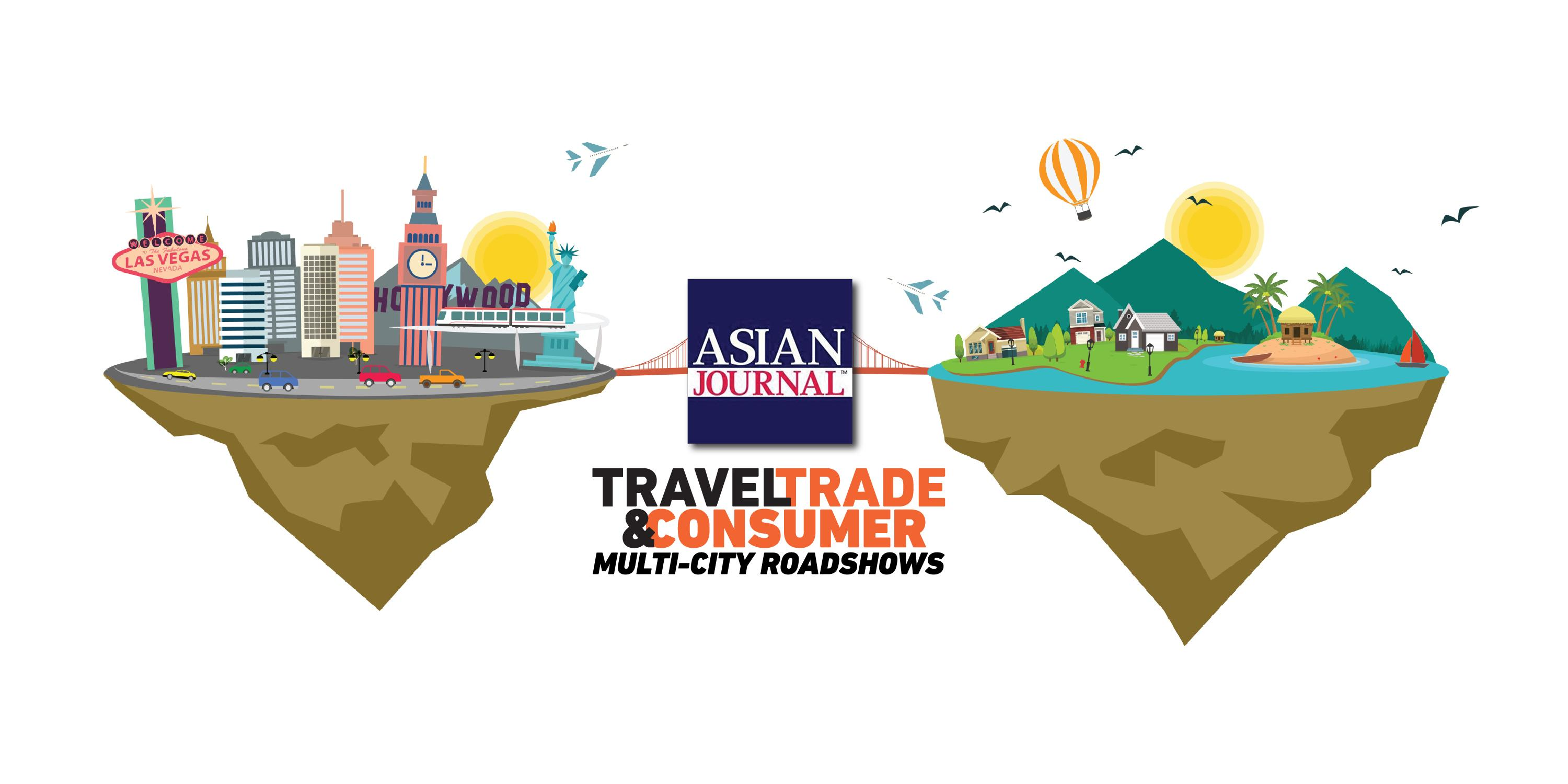 Asian Journals Travel Trade &amp Consumer Expo in Los Angeles California