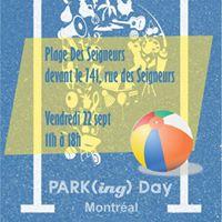 PARK(ing) Day Plage Des Seigneurs